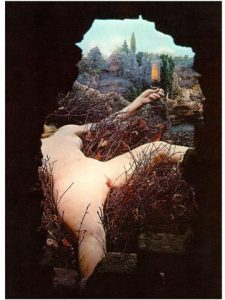 Marcel Duchamp, Étant donnés : 1° la chute d'eau 2° le gaz d'éclairage… (1946-1966)