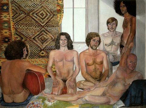 Sylvia Sleigh The Turkish Bath, 1973