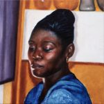 Millie 2, 2002 Oil on canvas, 60 x 60 cm