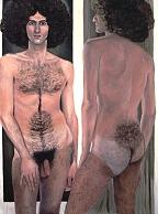 Double Image: Paul Rosano oil 1974