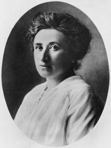 Rosa Luxemburg, 1912
